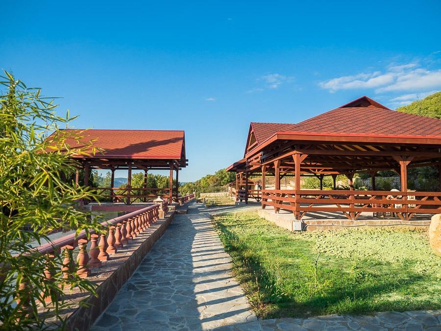 Банкетный зал Байдары Байдарская долина Крым свадьба, корпоратив